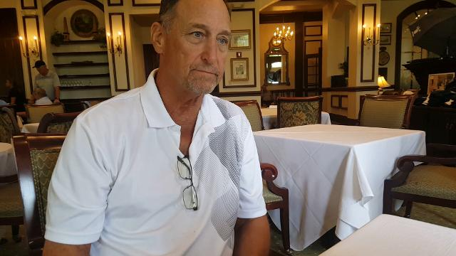 Grogan, who played all 16 of his NFL seasons in New England (1975-90), played in the Earl Morrall Celebrity Golf Tournament at The Strand in Naples on March 12, 2018.