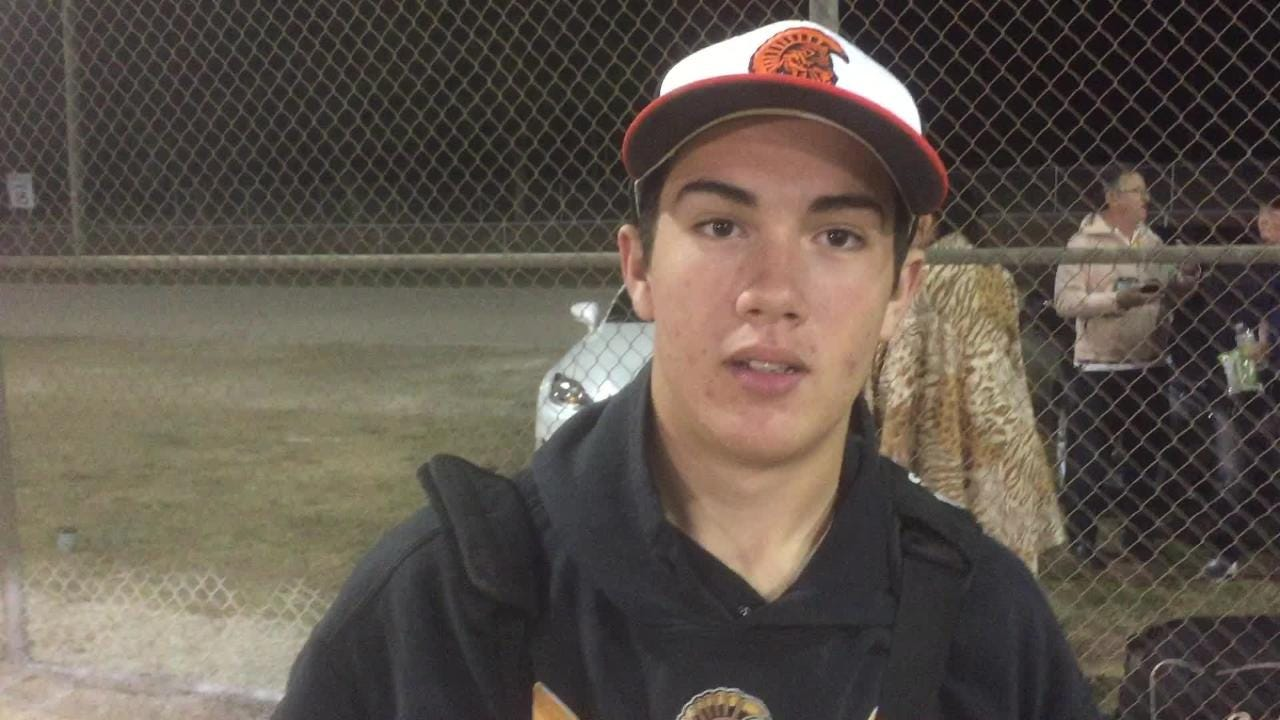 Lely pitcher Robert Rossetti tossed a three-hitter with no walks and seven strikeouts to lead the Trojans past Estero 7-1 on Thursday.