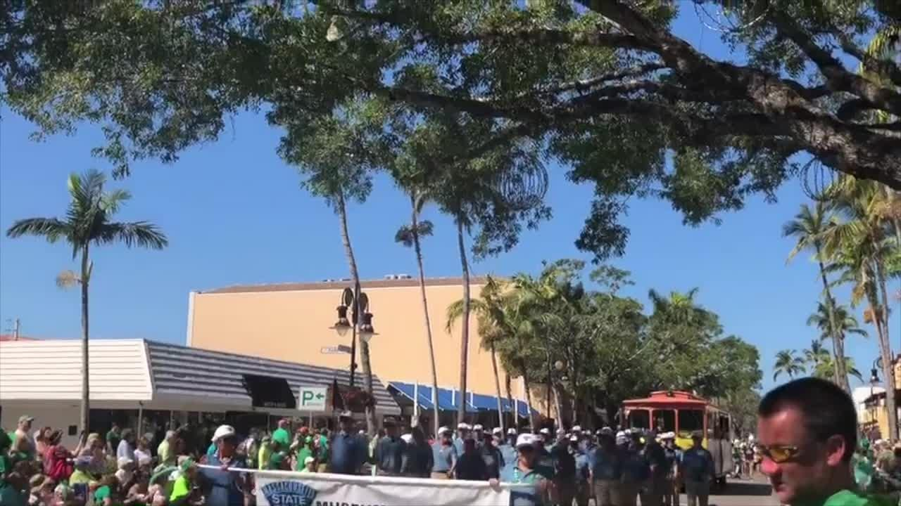 The St. Patrick's Day Parade was held Saturday, March 17, 2018, in downtown Naples.
