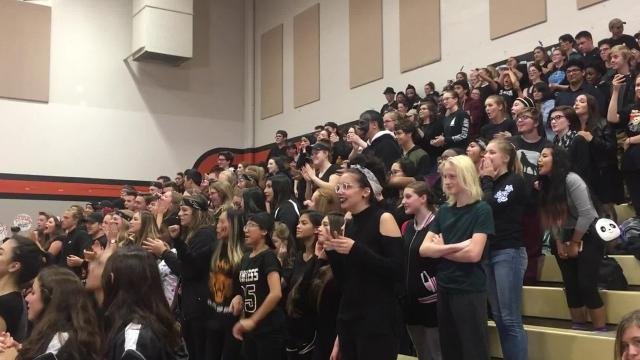 "Central Kitsap High School went gender-neutral in 2017. This year, instead of a homecoming king and queen, there were two ""sovereigns."" Students got to vote for people regardless of their gender or gender identity."
