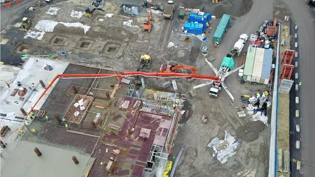 A tour of the Harrison Silverdale construction site.