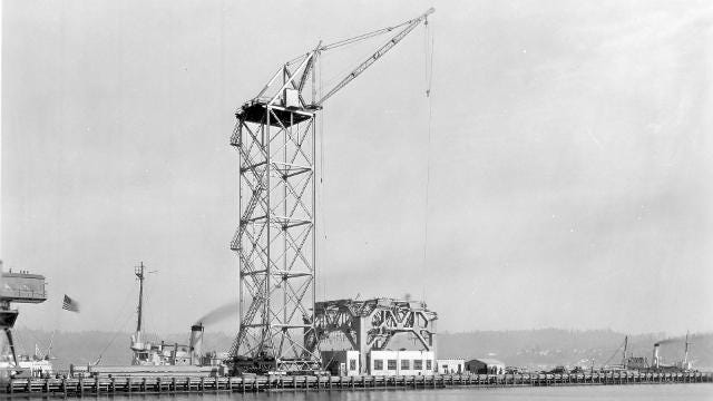 The Navy continues to preserve Puget Sound Naval Shipyard's hammerhead crane - and to tell its story.