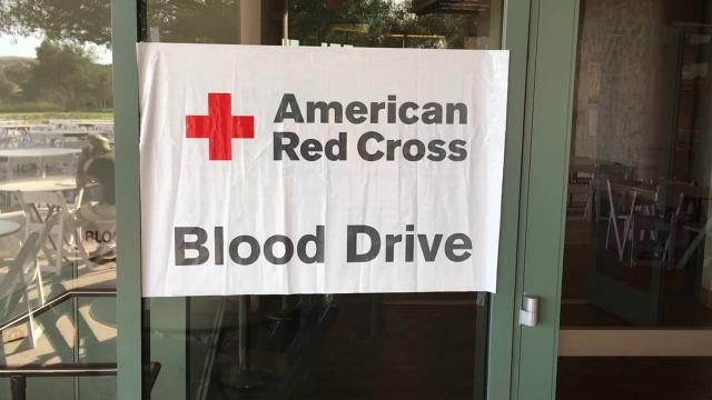 Nearly 200 pints of blood, saving  up to 600 lives, have been collected at the library in the blood drive's last three campaigns, library officials say.