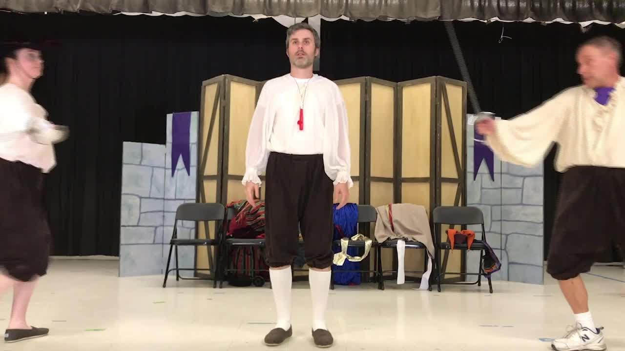 In its 19th year, the Kingsmen Shakespeare Educational Tour is visiting 40 schools in Newbury Park, Oak Park, Oxnard, Simi Valley, Thousand Oaks and Westlake Village.