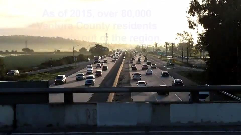 Here's how busy Ventura County freeways can be