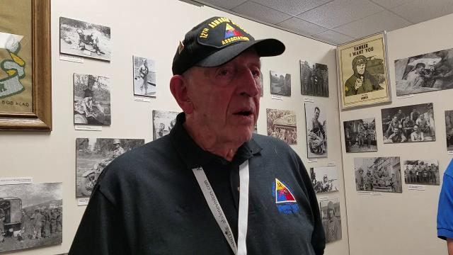 12th Armored Division  reunion in Abilene brings memories for former members, such as George Rich.