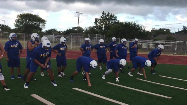 Leading the charge: O-Line hopes to lead Moody to postseason