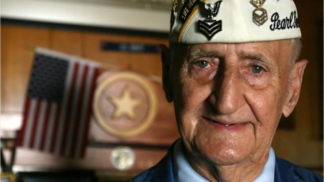 Pearl Harbor survivor Harry Ogg turns 95
