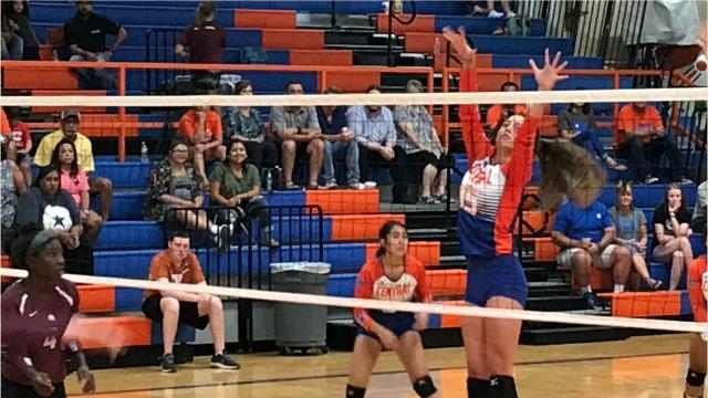 Central volleyball player carries on family traditions
