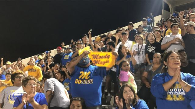 Fans of Miller, Moody high schools show spirit