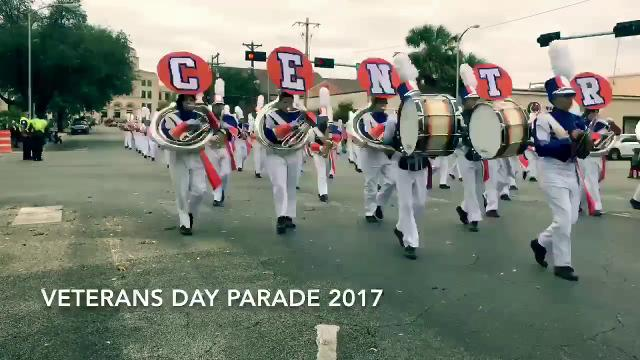 A time-lapse video of San Angelo's Veterans Day Parade.