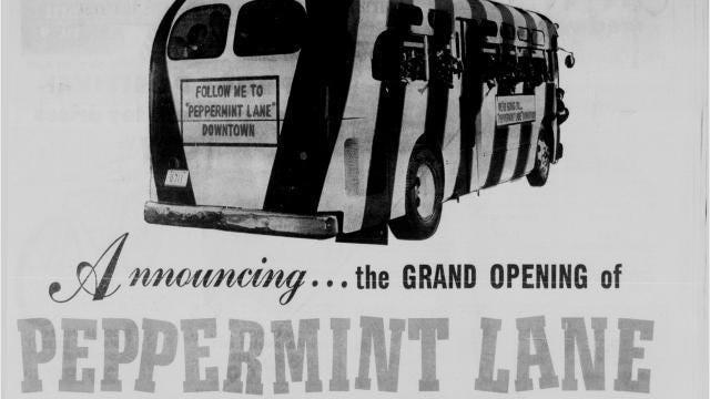 Peppermint Lane in Downtown Corpus Christi