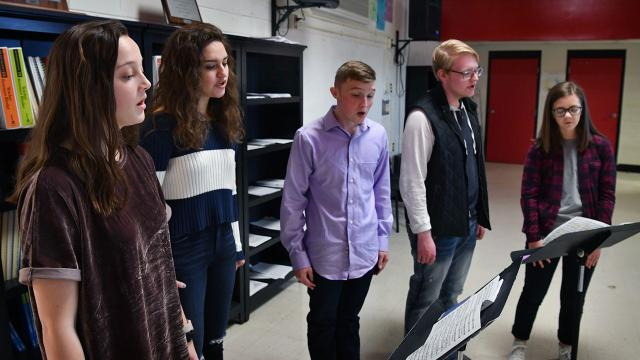 Members of Wichita Falls High School and Rider High School qualified for UIL All-State Choir.