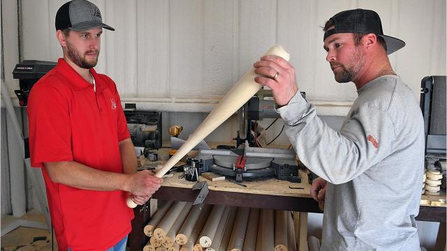 Xylo Bats in Dean, Texas recently became a supplier of bats for Major League Baseball.