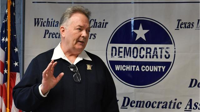 Greg Sagan talks about his incumbent Republican opponent, Mac Thornberry, and defense spending.