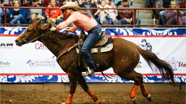 San Angelo barrel racer Bridget Carr talks about her great showing at the 2nd performance of the 2018 San Angelo Stock Show & Rodeo.
