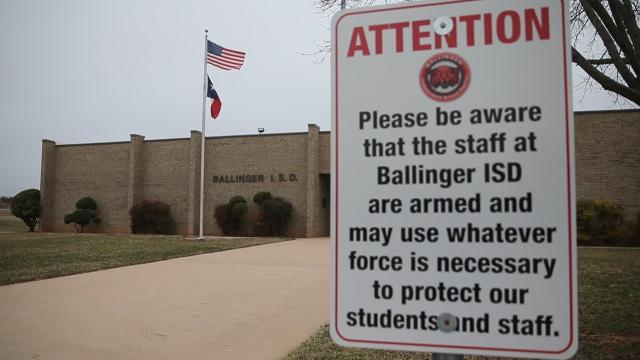 Ballinger ISD arms staff to confront active shooter events