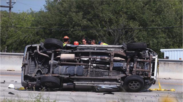 Man dies after crashing into reversing vehicle on Interstate