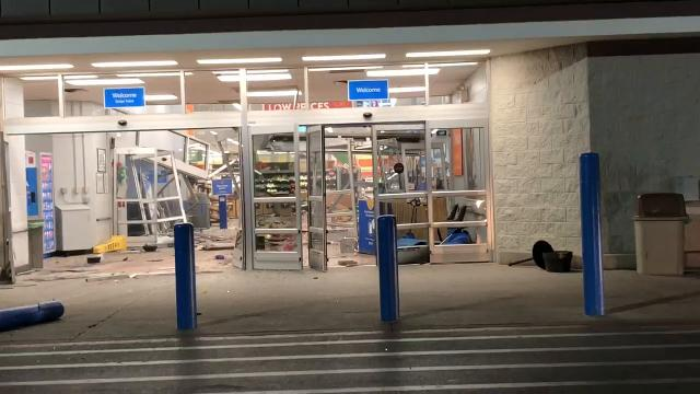 Walmart patron Mindy Ralston took this video on the morning of June 28, 2018 after escaping the San Angelo Walmart.