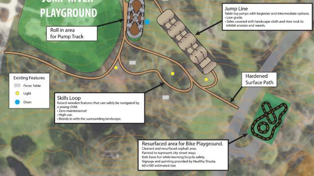 Junior bike park coming to Caldwell Park