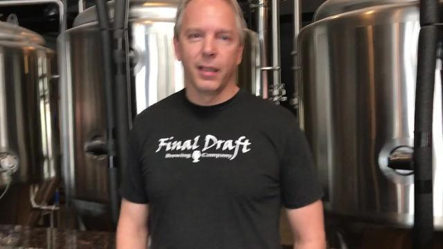 Adam Ward, co-owner of Final Draft Brewing, explains why his business supports the proposed food truck court in Carnegie Park.