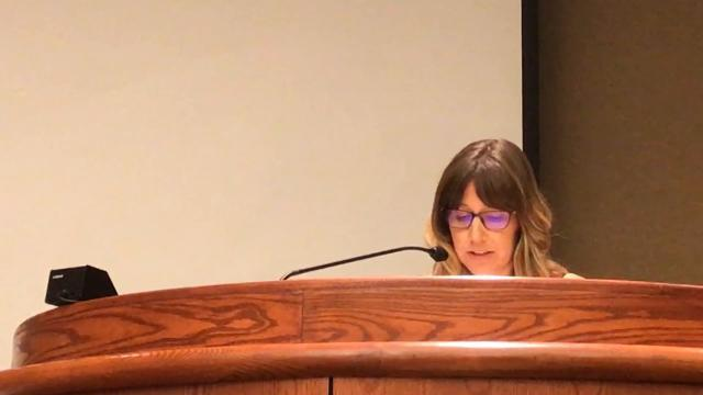 Megan Conn opposes the recall