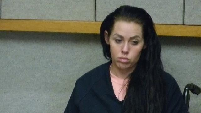 Grace Elizabeth Ward pleaded not guilty Friday in Shasta County Superior Court to murder and other charges.
