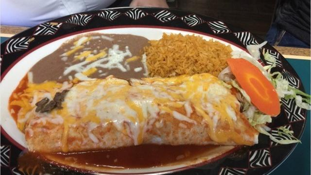Latino's Mexican Restaurant in Shasta Lake serves flavorful dishes in its cheerful dining room.