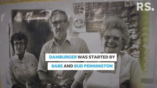 Damburger has been serving up its famous burgers since 1938.