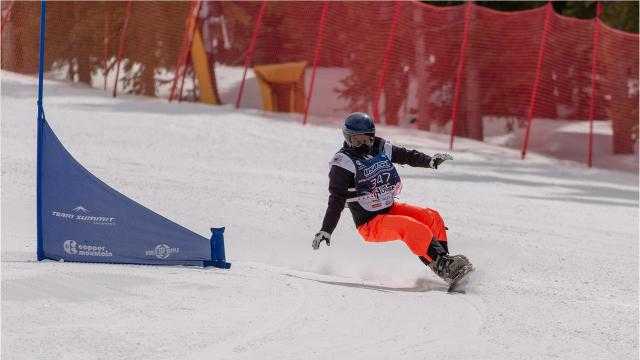 Sage Will, who snowboards for Shasta High School in Redding, has set her sights on becoming an Olympian.
