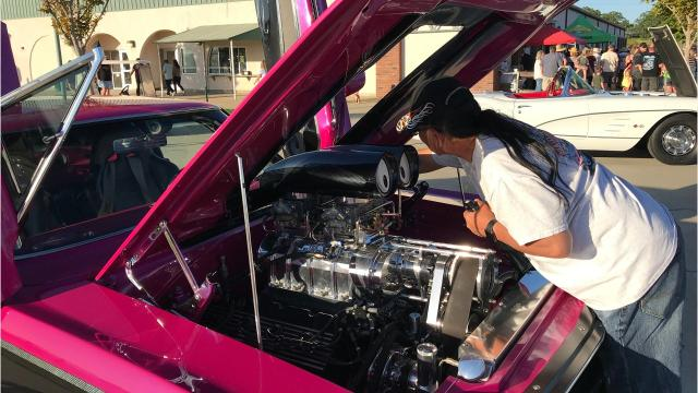 Several hundred unique cars and trucks were on display at Big League Dreams for the Saturday kickoff of a week full of events known as Kool April Nites.
