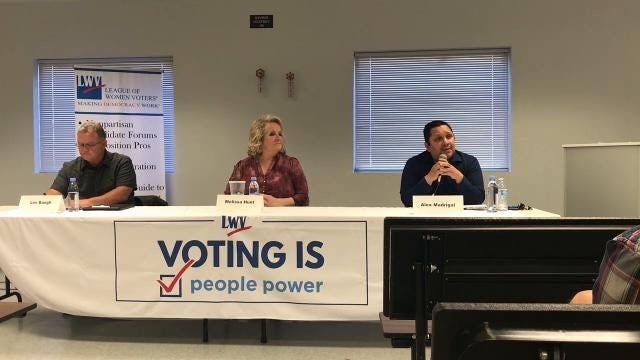 Why do Alex Madrigal and Melissa Hunt want Les Baugh's seat on the Shasta County Board of Supervisors? And why does Baugh think he should keep it? Find out in their own words.