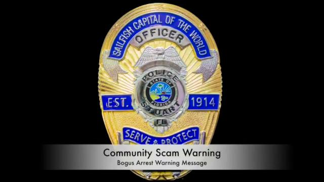 The Stuart Police Department is warning residents about two new phone scams, using these calls as examples.