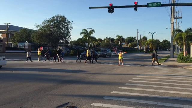 Martin County students head back to school for the first day Aug. 15, 2017.