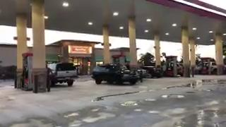 Irma: Residents find gas and fill up in Port St. Lucie
