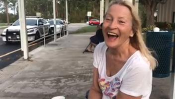 Video: Fort Myers resident shelters in Fort Pierce during Irma