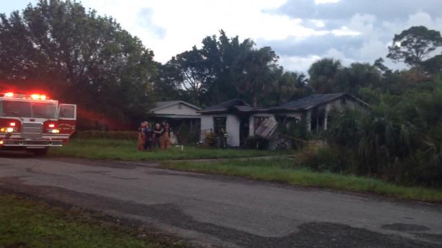 One person was found dead inside the home after an early-morning fire Oct. 17, 2017.