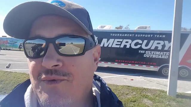 Tournament fisherman Nik  Kayler disappeared after his boat capsized in Lake Okeechobee Jan. 4, 2018.