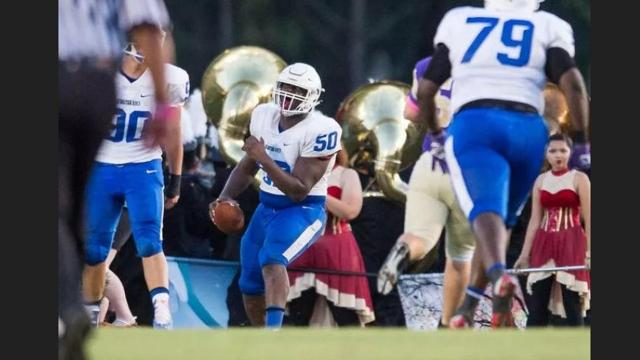 Who are the top unsigned defensive linemen on the Treasure Coast?