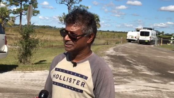 Celebricky Samlal is an acquaintance of the two men involved in the shooting at Stewart Mining Industries in Fort Pierce Thursday, Jan. 11, 2018.