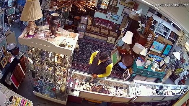 Stuart police said a man and woman used distraction to steal jewelry.