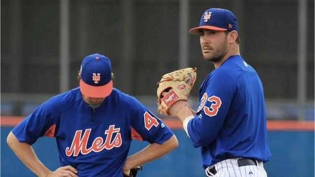 Matt Harvey had surgery to correct thoracic outlet syndrome, a disorder that caused numbness in his throwing arm, in 2016 and missed time last season because of a stress fracture in his right scapula.