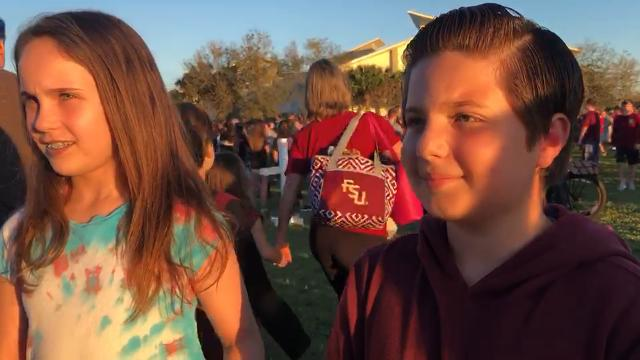 Video: Young Parkland residents shocked by shooting