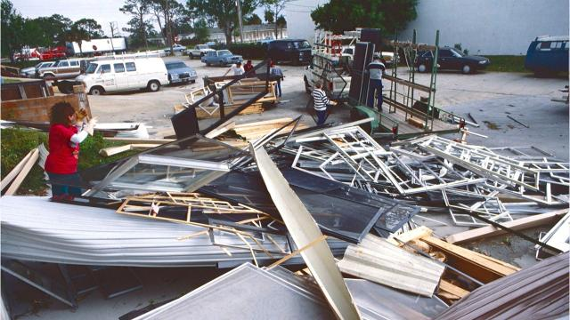 A no-name storm raced across the Gulf of Mexico on March 11-12, 1993, and barreled into the Big Bend region of Florida on March 13, 1993. More than 200 people were killed in 13 states, including 44 in Florida. MAUREEN KENYON/TCPALM