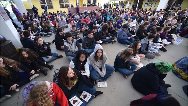 Indian River Charter High School holds memorial for Parkland shooting victims