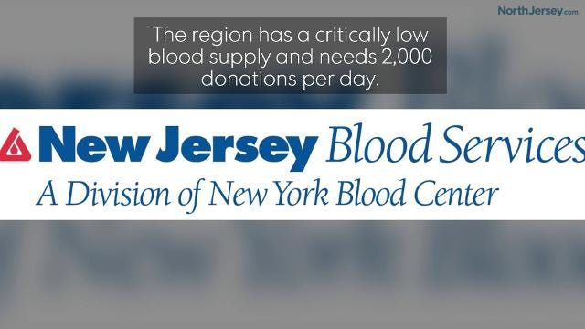 Roof4Roof will host a blood drive to help with the critically low blood supply in the region.
