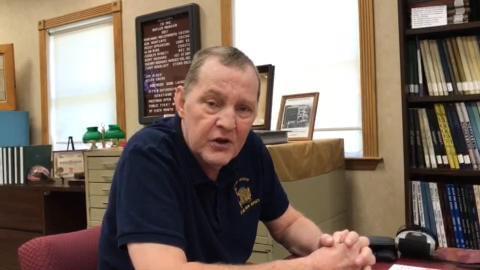 Ken Montanye of the Butler Museum says museum needs volunteers.