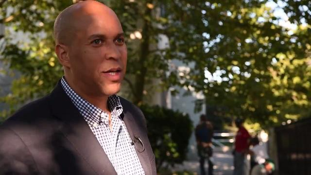 Senator Cory Booker says he doesn't think about running for President.