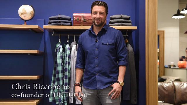 Chris Riccobono, co-founder of UNTUCKit, shares the inspiration for his while preparing for the opening of his newest retail location in The Mall at Short Hills.