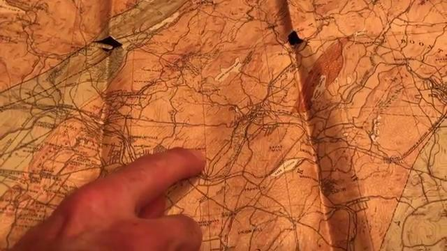 Vernon N.J.'s Dan Lopez explains how he used old books and maps to find abandoned mines he could explore. Lopez spent nearly a decade exploring mines in N.J., N.Y., and Pa. with a crew of friends.
